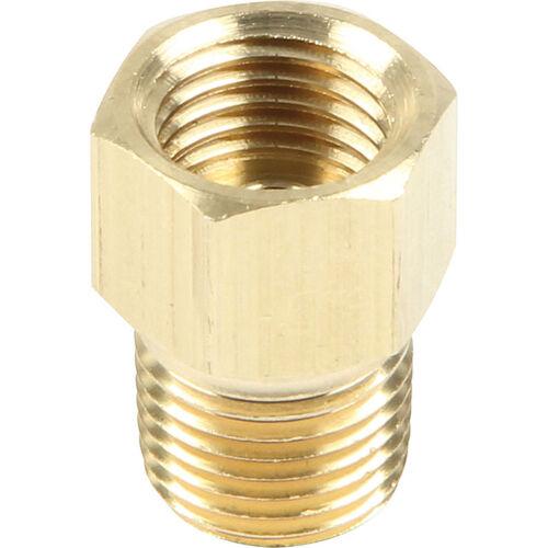 Brass 1//8 Npt x 3//8-24 Inverted Flare 3//16 Brake Hard Line BMFI125187@SpeedTech