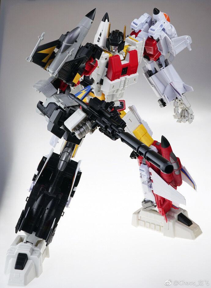 NUOVO Transformers JJ-02 JET Commander G1 Superion combinazione ROBOT GIOCATTOLO GIOCATTOLO GIOCATTOLO IN MAGAZZINO 589630