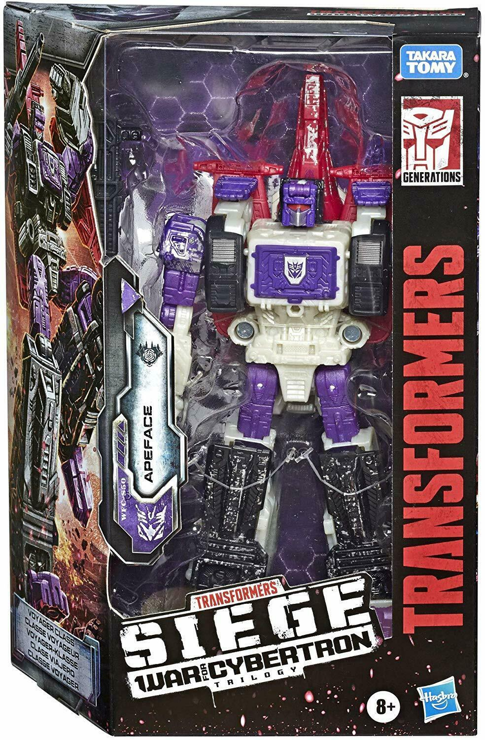 TRANSFORMERS GENERATIONS SIEGE WAR FOR CYBERTRON WFC VOYAGER APEFace FIGURE