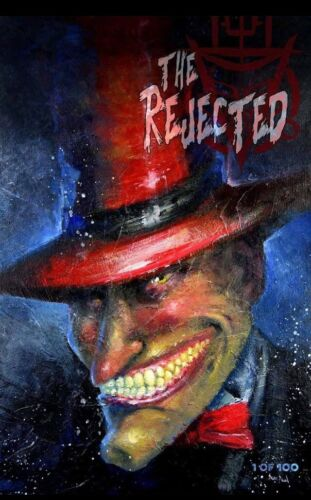 THE REJECTED #1 North Texas Comic Book Show Exclusive LTD 100 SourcePointPress