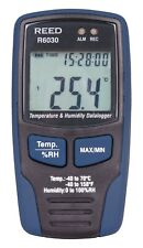 Reed Instruments R6030 Temperature And Humidity Data Logger 40c To 70c