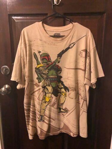 Star Wars- Boba Fett Men's T-shirt XL Vintage(The