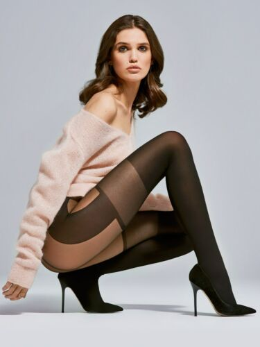 FIORE Modern Luxury 40 Denier Super Fine Decorative Microfibre Patterned Tights