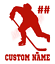 Custom-Hockey-Player-Number-Name-Vinyl-Decal-Window-Sticker-Car thumbnail 10