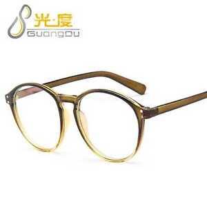 019f37fc60f5 Image is loading Fashion-Decoration-Eyeglasses-Brand-Designer-Women-Men- Glasses-