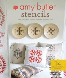 chronicle books amy butler stencils fresh decorative patterns for home fashion craft