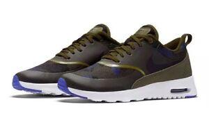 Nike AIR MAX THEA JCRD JACQUARD 844955 300 (OliveBlackBlue