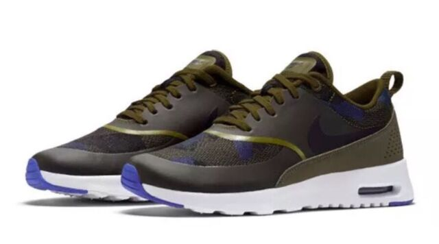 new arrivals b5860 4b87b WMNS Nike Air Max Thea JCRD Olive Green Womens Running Shoes SNEAKERS  844955-300 7