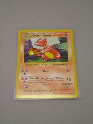 POKEMON CHARMELEON # 24//102 Base Card