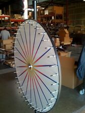 New Carnival Spin to Win Prize Wheel / 20 White Dry Erase Pies