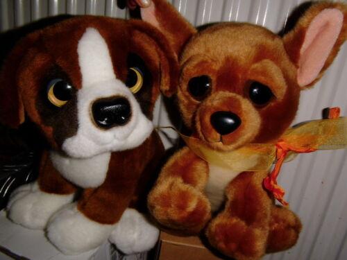 Haustiere Äußerst schnuckeliger Hund,Chihuahua 23cm lang,19cm hoch mit Bernhardiner Freund