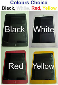 iPad Mini Front Panel Only Coloured Matte Vinyl Decal Skin sticker