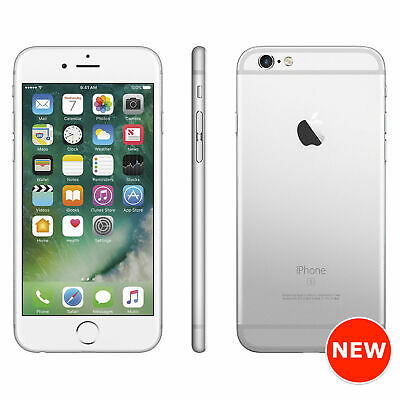 Apple iPhone 6s - 16GB, 32GB, 64GB, 128GB - Silver A1688 (Unlocked) - Sealed