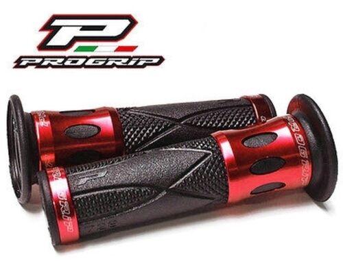 Progrip Lenkergriffe ROT Alu Honda CB 125 Twin CB 250