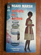 Ngaio Marsh ARTISTS IN CRIME Berkley F726 1963 Photo Cover L@@K WOW!!!