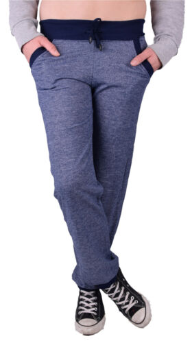 Damen Jogginghose und Sporthose Freizeithose Sweatpants Meliert Look