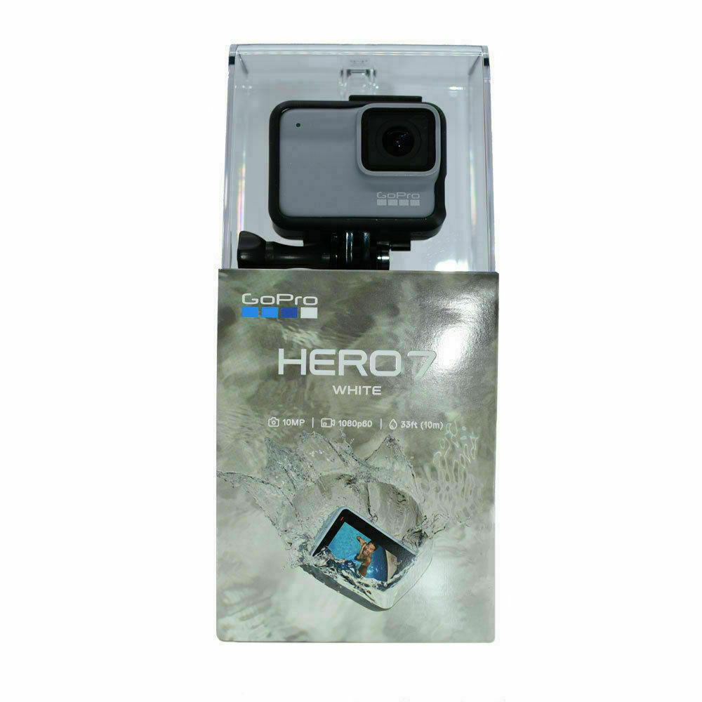 NEW GoPro HERO7 Waterproof Digital Action Camera - White (CHDHB-601) Brand New action brand camera digital gopro hero7 new waterproof white