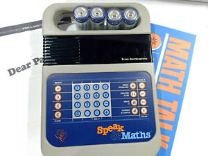 Texas Instruments TI Speak and Math Classic Electronic Toy and Game Calculator