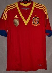 hot sale online 96586 7c0e2 La foto se está cargando Equipo-Nacional-de-Espana-2013-2014-Hogar-Camiseta-