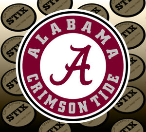 Alabama-Crimson-Tide-Logo-NCAA-Die-Cut-Vinyl-Sticker-Car-Window-Bumper-Decal