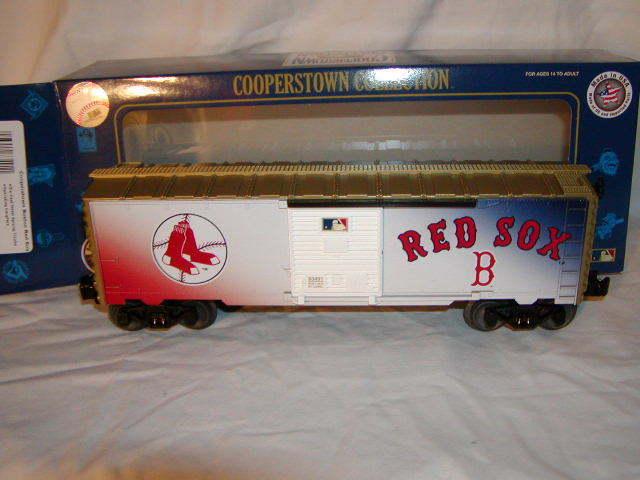Lionel 683491 Boston rosso Sox scatola auto o 027 Cooperstown Collection Nuovo di zecca con scatola NUOVA 2016