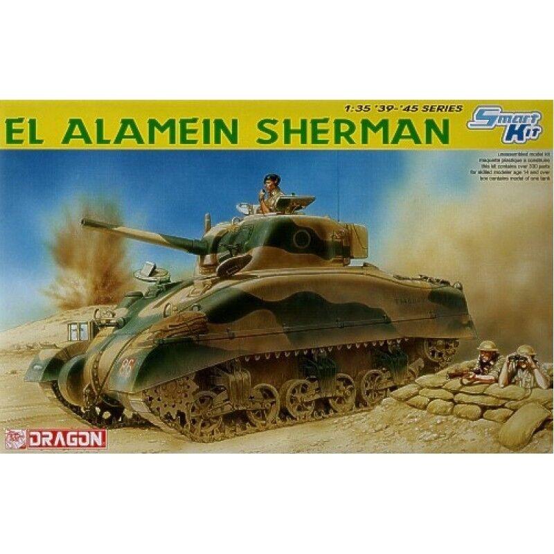Dragon Models - El Alamein Sherman (1 35)