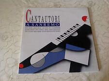 "VARIOUS (LP)""CANTAUTORI A SANREMO"" [RARE/ CINEVOX/ TSC 33.65/""AMADEO MINGHI""] M-"