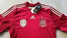 Adidas Spanien WM Meister Trikot 2010 Größe L rot neu Wunschbeflockung möglich