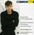"""Schumann: Complete Works for Piano & Orchestra (CD, Oct-2010, H""""nssler Classic)"""