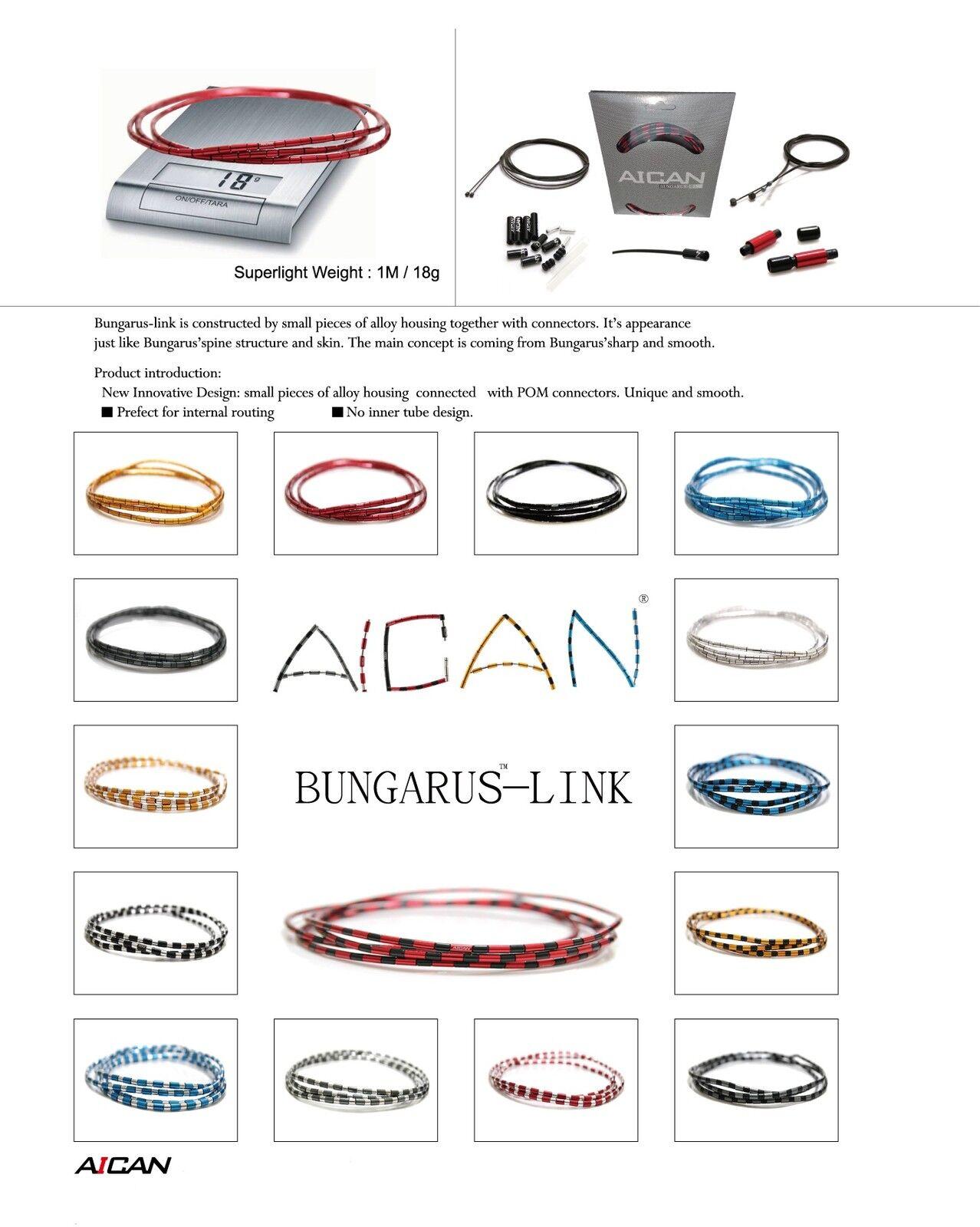 AICAN Superlight Bungarus BRAKE Cable Housing set kit Nokon I-Link