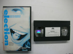 Election, Matthew Broderick Reese Witherspoon 2000 VHS Italian