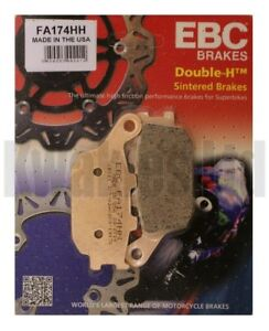 Suzuki GSR750 2011-2016 Set of EBC Front /& Rear Brake Pads