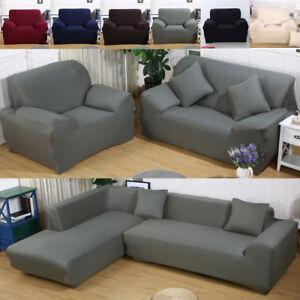 4 Grosse Sofa Uberwurfe Sofabezug Stretch Elastische Sofahusse