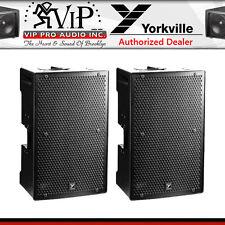 "Yorkville PS12P Pro Powered 12"" 1400W Parasource Active Loudspeaker 12"" (PAIR)"