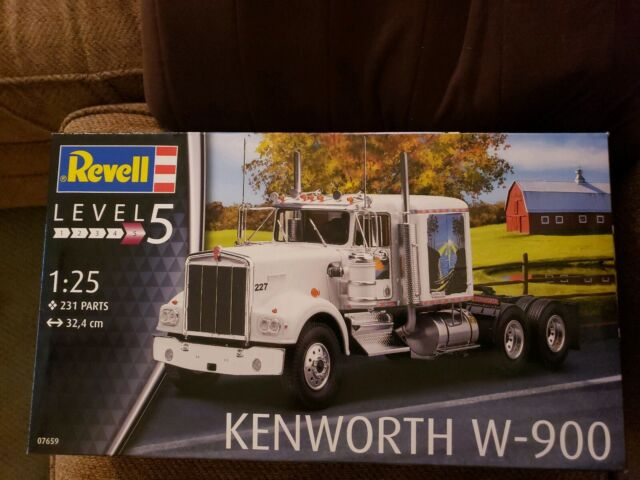 Gms Customs Xmas Auction Revell Germany Kenworth W900 Truck For Sale Online Ebay