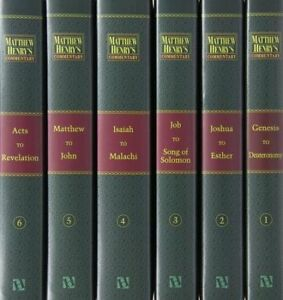 Matthew-Henry-039-s-Commentary-on-the-Whole-Bible-6-Volumes