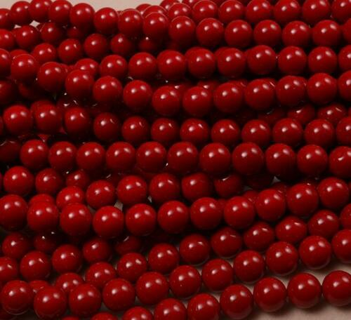 """4//6//8//10//12mm Pink Shell Pearl Round Gemstone Beads 15/"""" AAAA"""