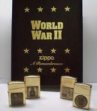 zippo WORLD WAR da collezione  nuovo