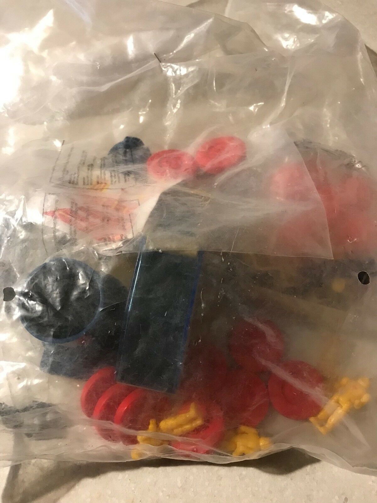 Vintage blueebird Toys Manta Force The Scythe Rare Pre Factory Sealed MINT