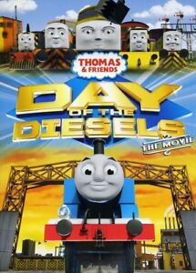 Thomas-amp-Friends-Day-of-the-Diesels-Movie-New-DVD-Ac-3-Dolby-Digital-Dolby