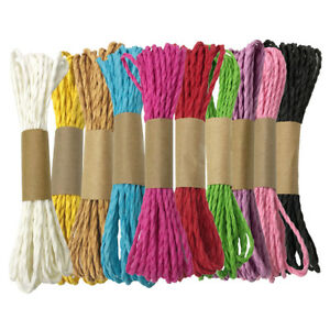 2 Meters Cork Ribbon String Cord for Wedding Party Gift Wrapping Crafts DIY