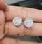 Deal-1-05-CT-Natural-Diamond-Cluster-Halo-Stud-Earrings-14K-White-Gold-9-5-MM thumbnail 10