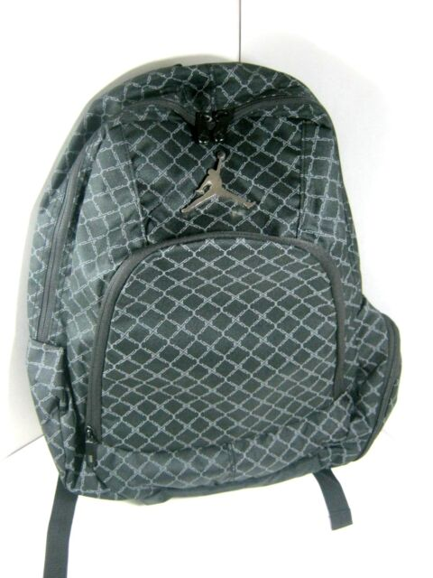 fe3b26e8c7bb Nike Jordan Jumpman Backpack School Book Bag Laptop Sleeve Black 9A1115 023