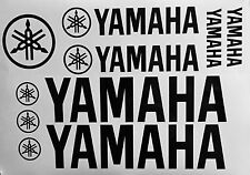 (10) Yamaha Racing Vinyl Stickers Graphic KIT Moto, Motocross, Supercross,  ATV