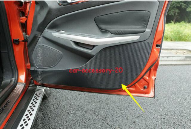 4 x PVC Interior Side Door Anti Kick Pad Protective Trim For Honda Accord 2018