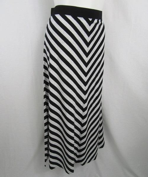 Calvin Klein Size 2X Heather Grey/Black Performance Quick Dry Maxi Skirt