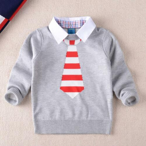 Winter Kids Baby Boy Clothing Knitted Turtleneck Sweater Coat Gentleman Pullover