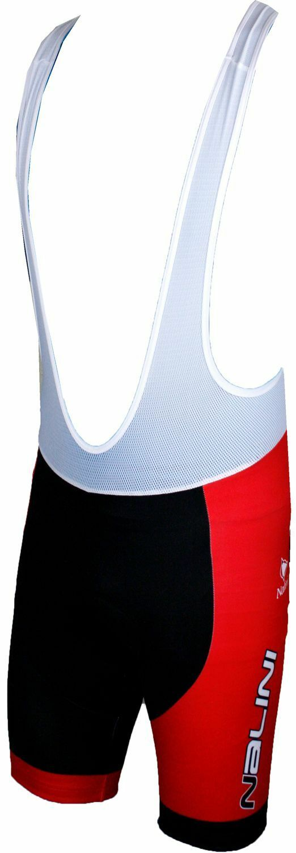 Nalini EUR) PRO FOGARI Trägerhose kurz schwarz/rot ( 94,90 EUR) Nalini 39aa8c