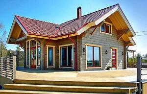 Blockhaus-als-Blockhausbausatz-Rohbausatz-Ausbauhaus-Blockhausbau-Oko-Biohaus