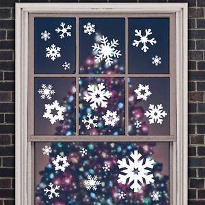 Wandtattoo-Weihnachten-Winter-Schneeflocken-Eiskristalle-Set-Wand-Tattoo-2059